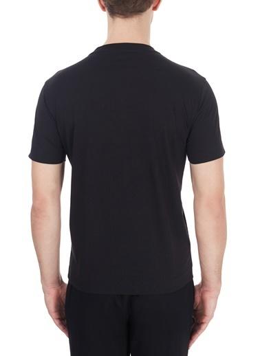 Emporio Armani  Baskılı Bisiklet Yaka % 100 Pamuk T Shirt Erkek T Shırt S 6H1Ta3 1Jdxz 0014 Siyah